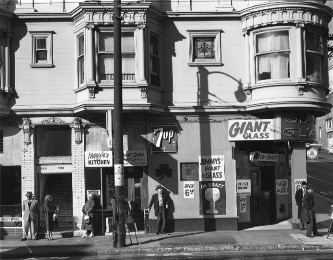 """Giant Glass"" by Harry Wilson, Photograph, San Francisco 1965, Mud Season Review"