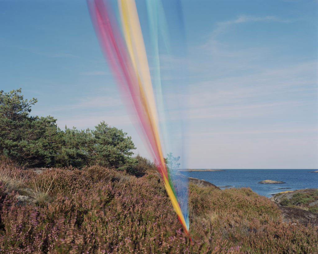 """""""String, cloth and kite #07"""" by Ole Brodersen, C-print analog photograph, 2016, Mud Season Review"""