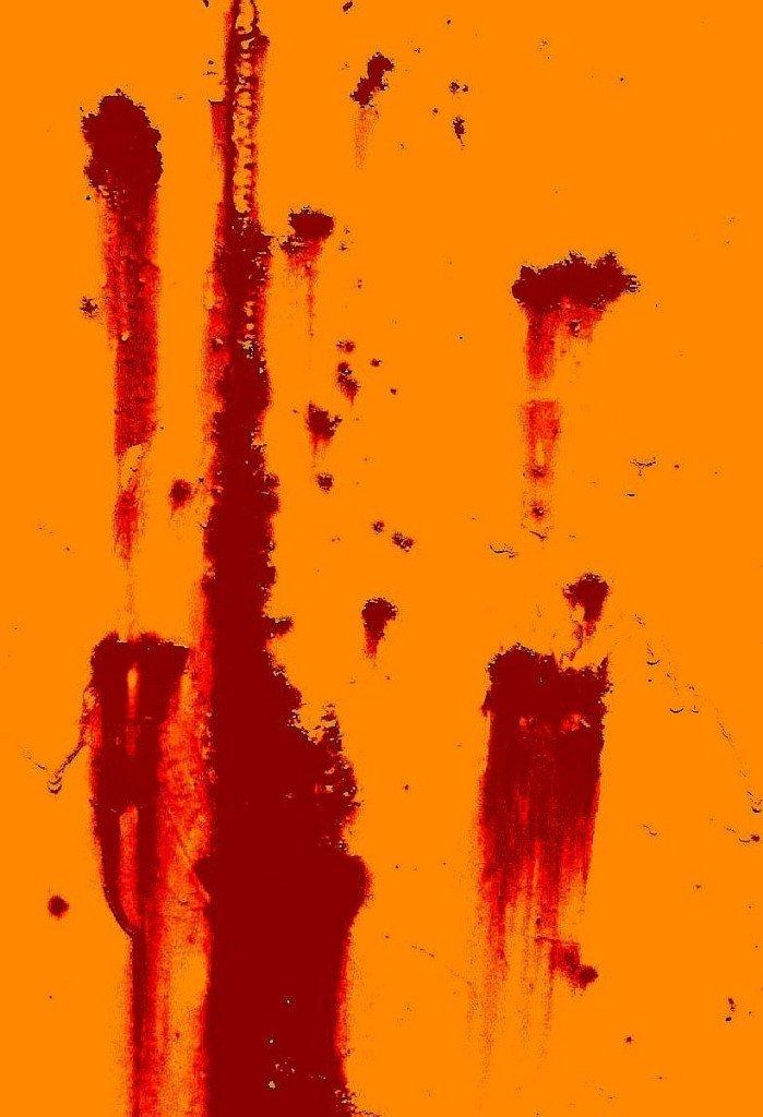 """""""Rust on orange,"""" Fabio Sassi"""