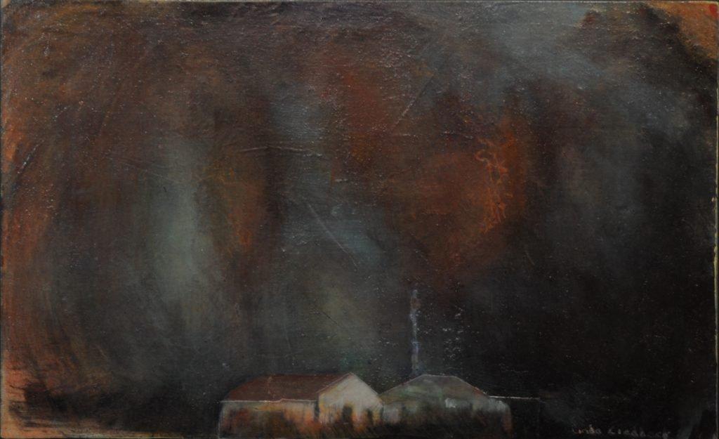 Change: Storm Sky at Night by Linda Craddock