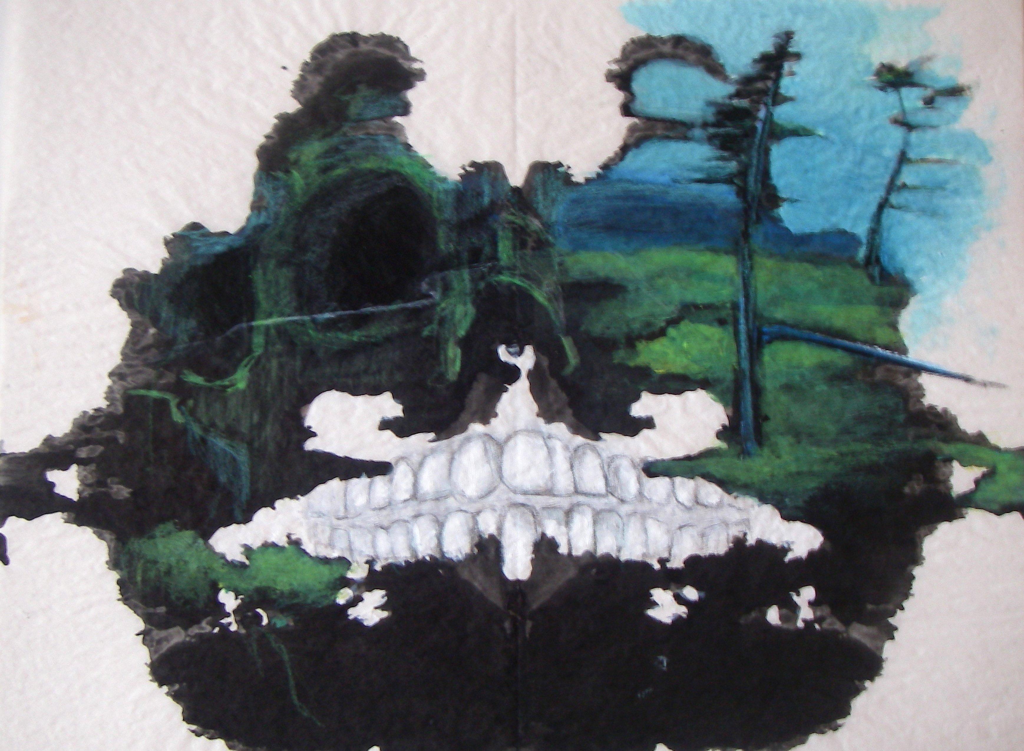 Mountain Skull by Jessica Nissen