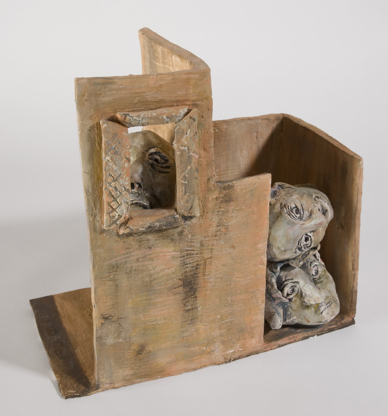 """Dwellings"" by Margie Kelk, Ceramic, Photo credit: Steven Crainford, Mud Season Review"