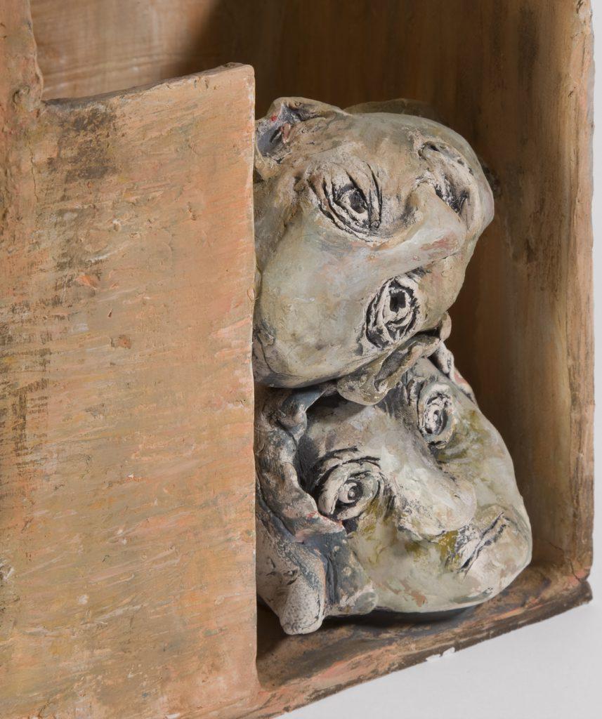 """""""Dwellings"""" by Margie Kelk, Ceramic, Photo credit: Steven Crainford, Mud Season Review"""