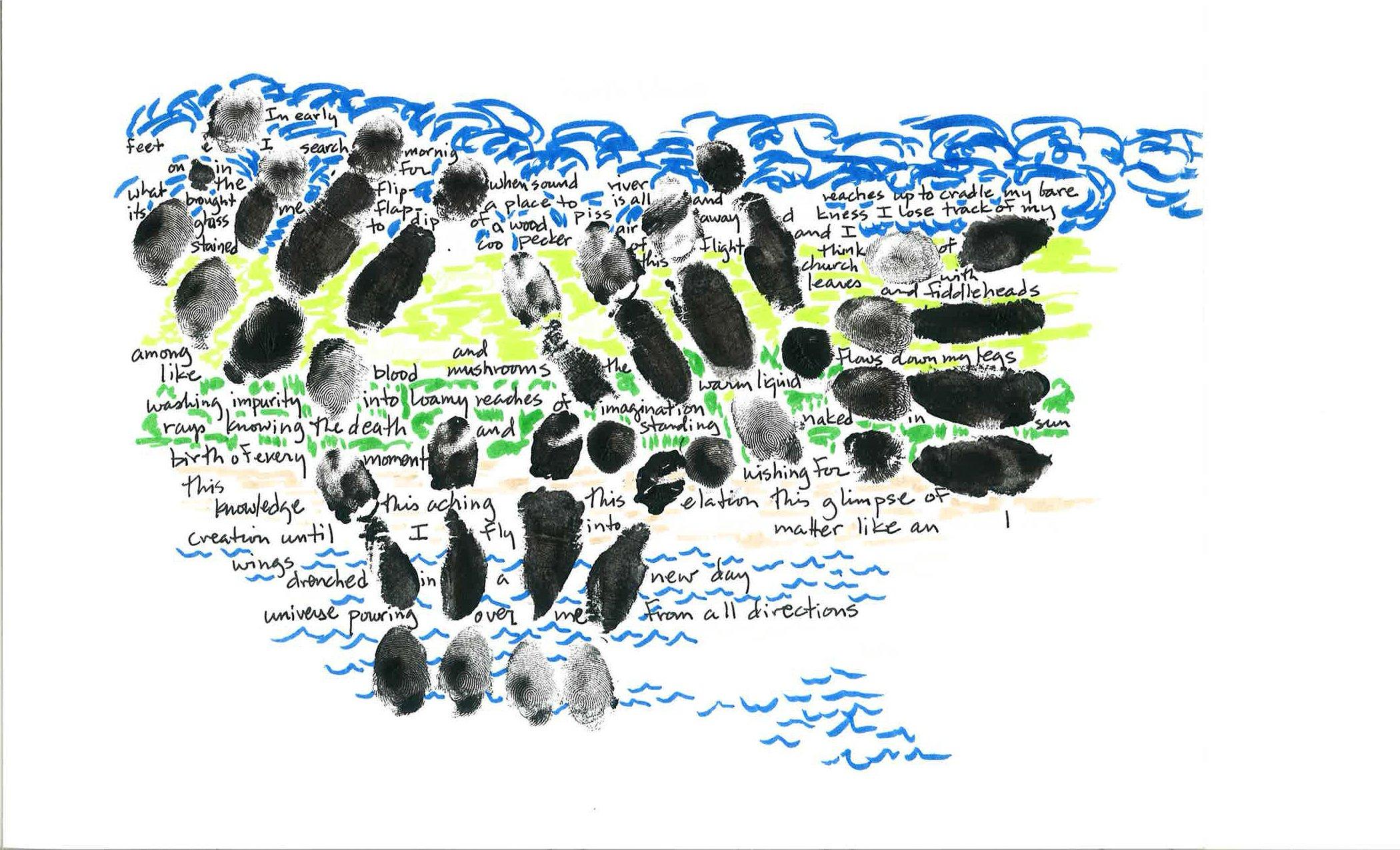 Earth Words, Mixed Media by Brad Garber, Mud Season Review