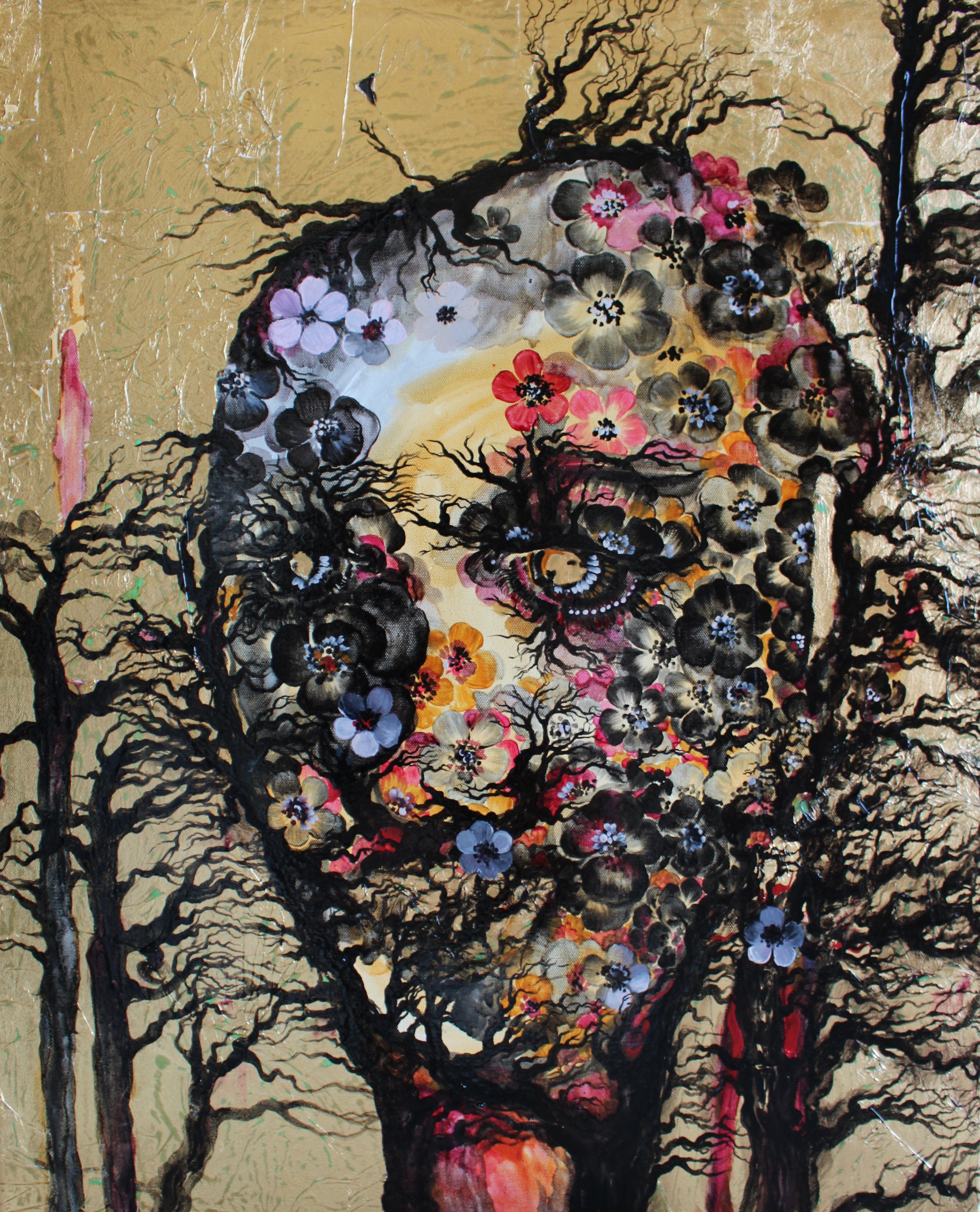 Spring, Mixed Media by Iryna Lialko , Mud Season Review