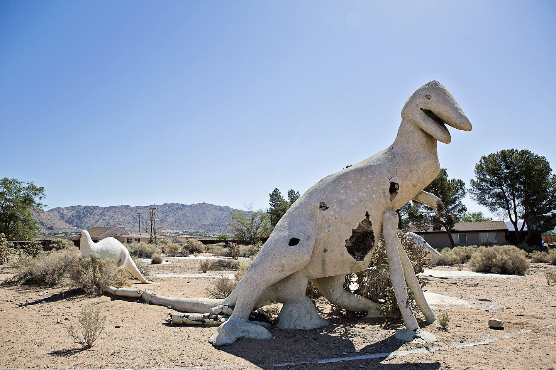 """Decrepit Dinos #3"" by Jennifer Lothrigel, Photograph, Mud Season Review"