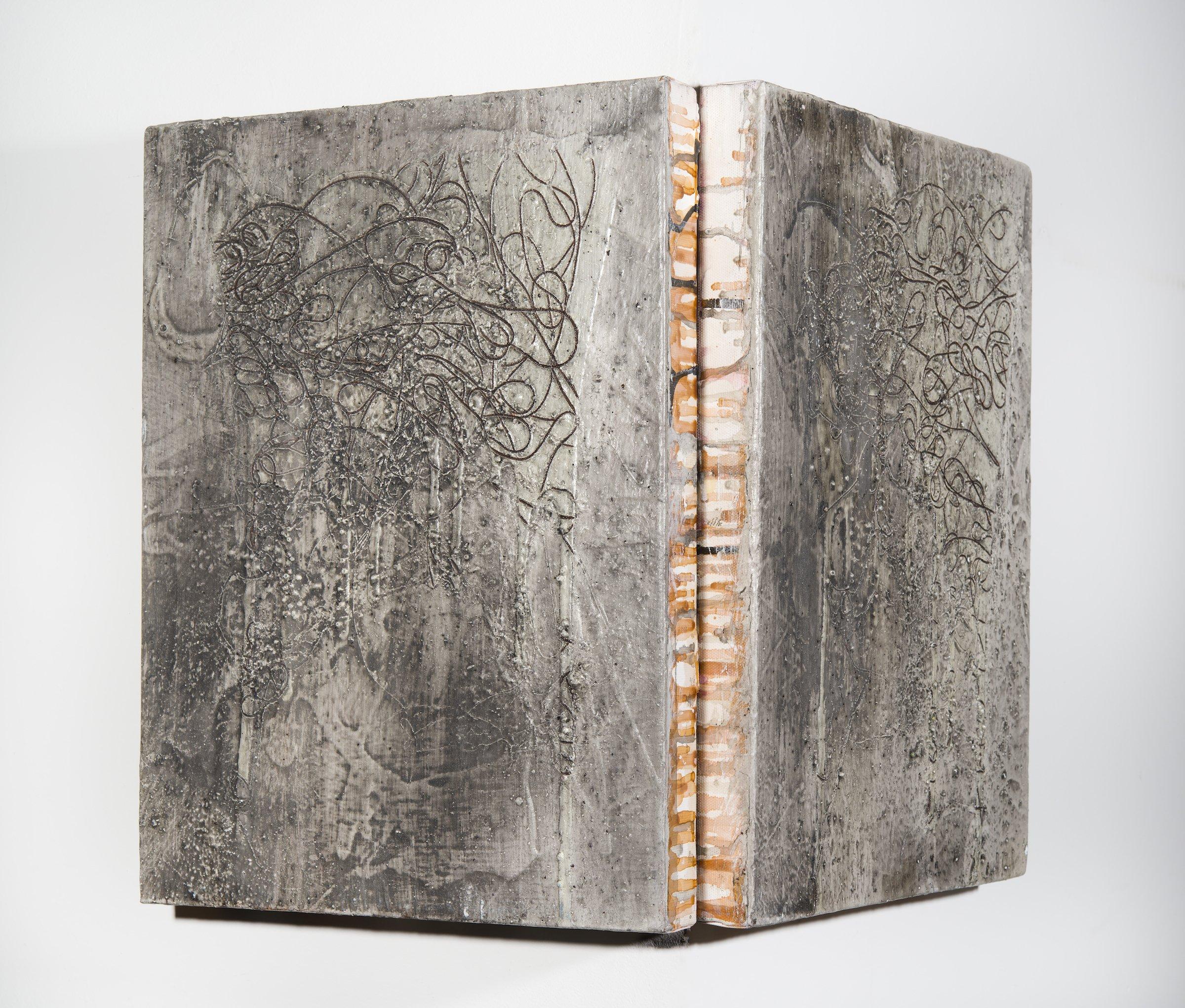 """Antashkaran"" by Antonio Puri, Mixed Media on Canvas, 2013, Mud Season Review"