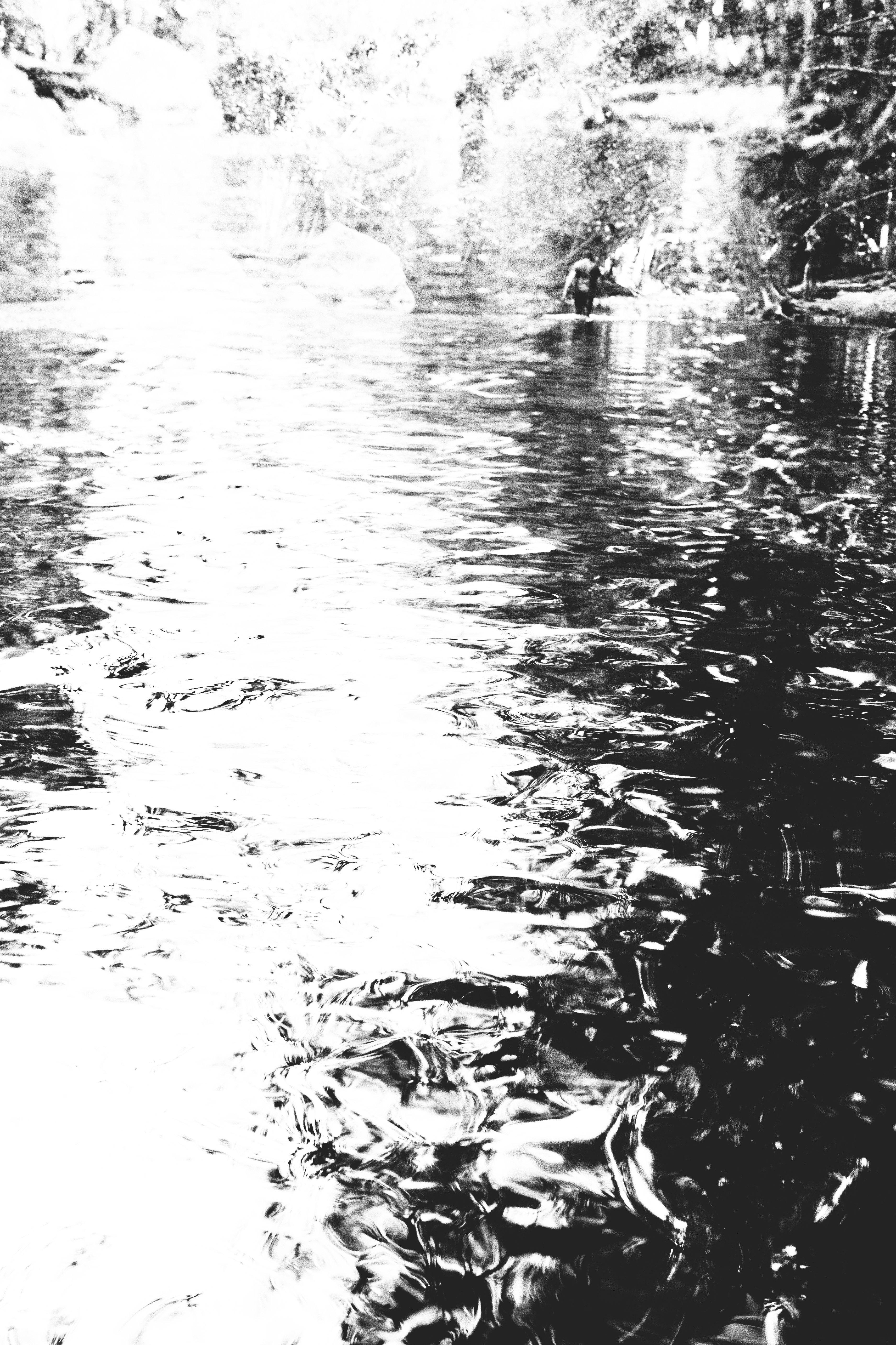 """The Waider"" by Joe McDermott, 24"" x 26"" Photograph,9/27/2013, Mud Season Review"
