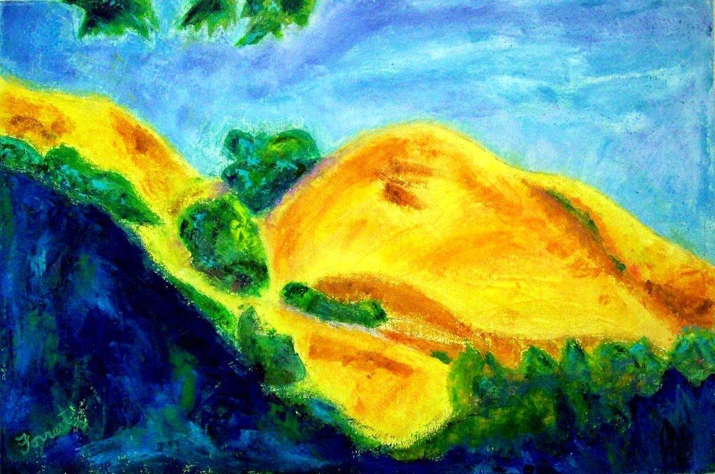 """""""Petaluma"""" by Allen Forrest, 20""""x30"""" Oil on Canvas, 2009, Mud Season Review"""