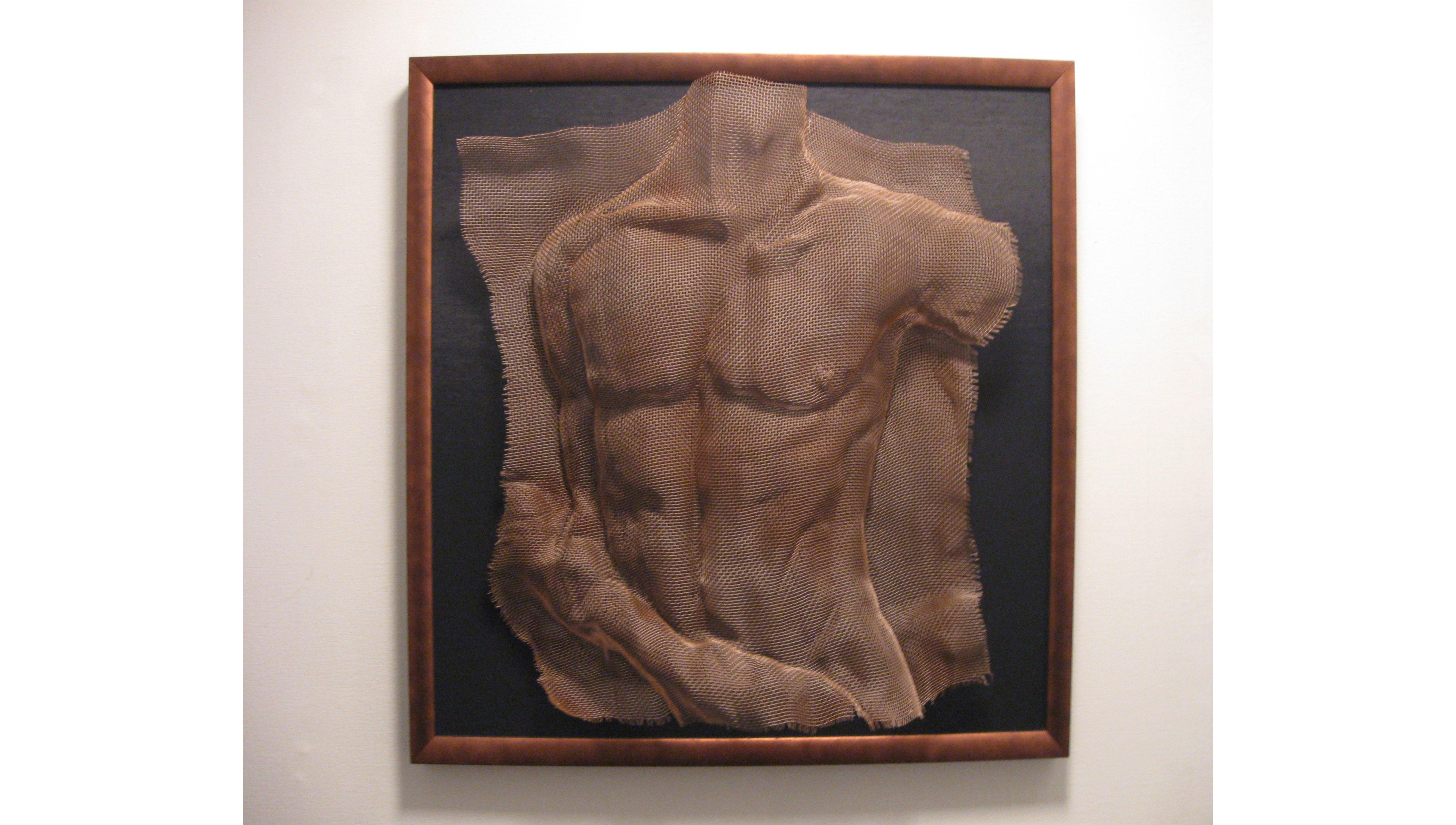 """Lucid Dreams"" by Bonnie Shanas, Wire Mesh Sculpture"