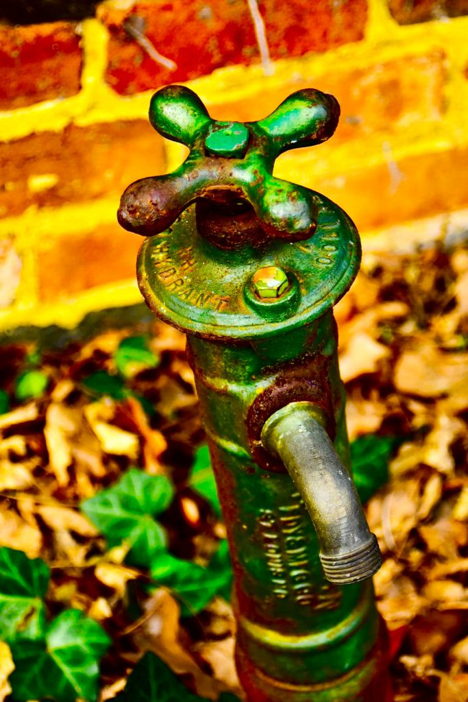 """Ancient Water Hydrant"" by William C. Crawford, photo"