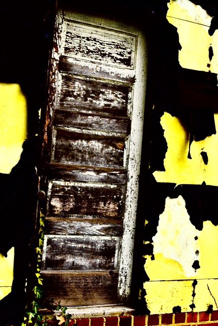 """A Tar Paper Shack As Abstract Art"" by William C. Crawford, photo"
