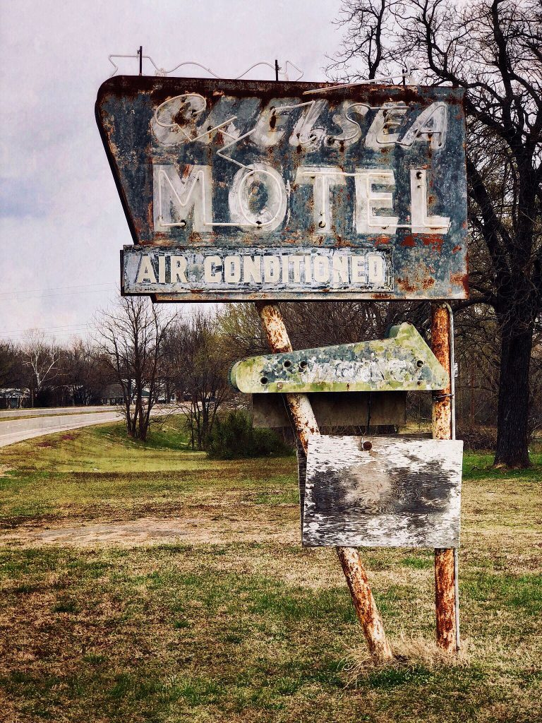 Chelsea Motel, Digital Photo, 2018