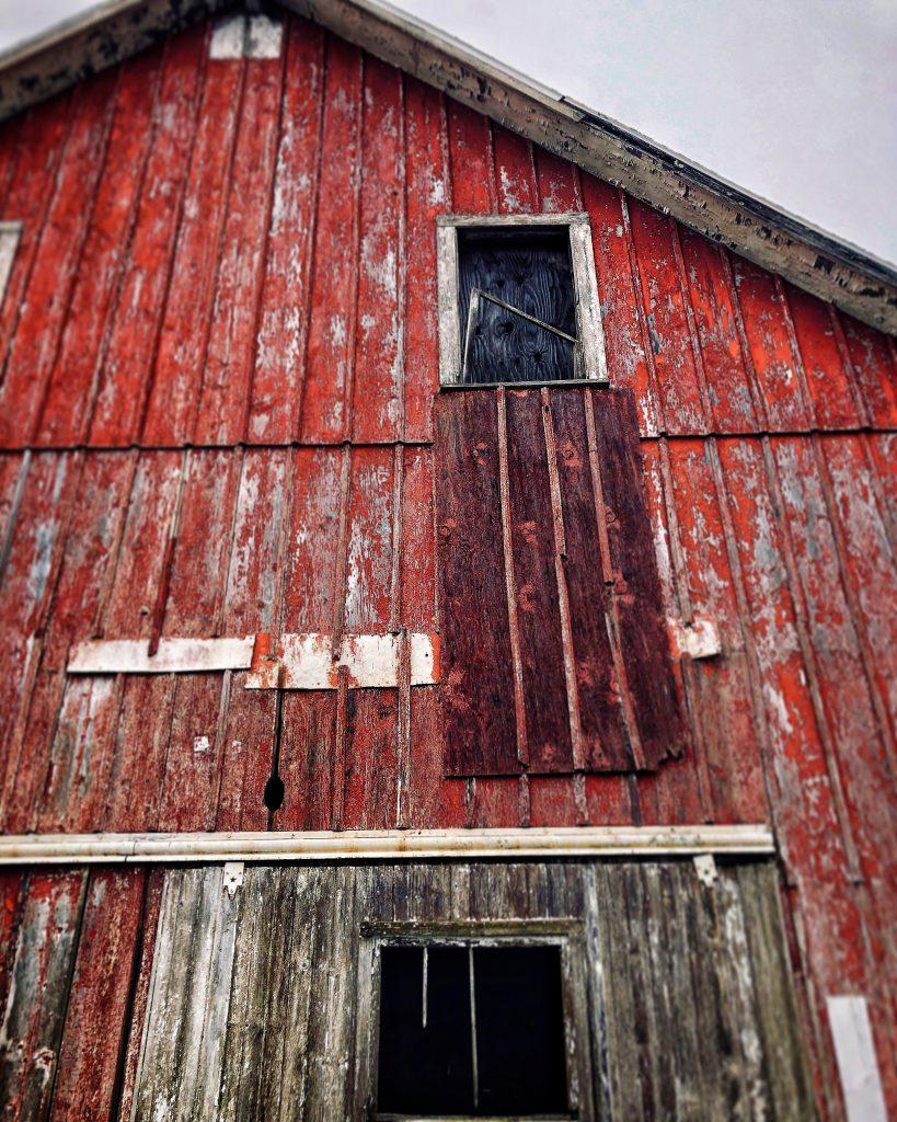My Cousin's Barn, Digital Photo, 2018