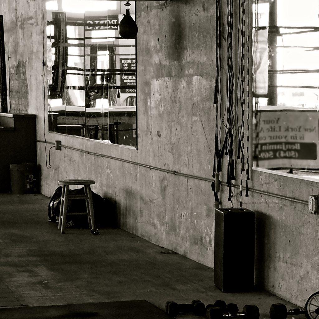 """Gym Ropes,"" digital image, 8×8 in., 2017"