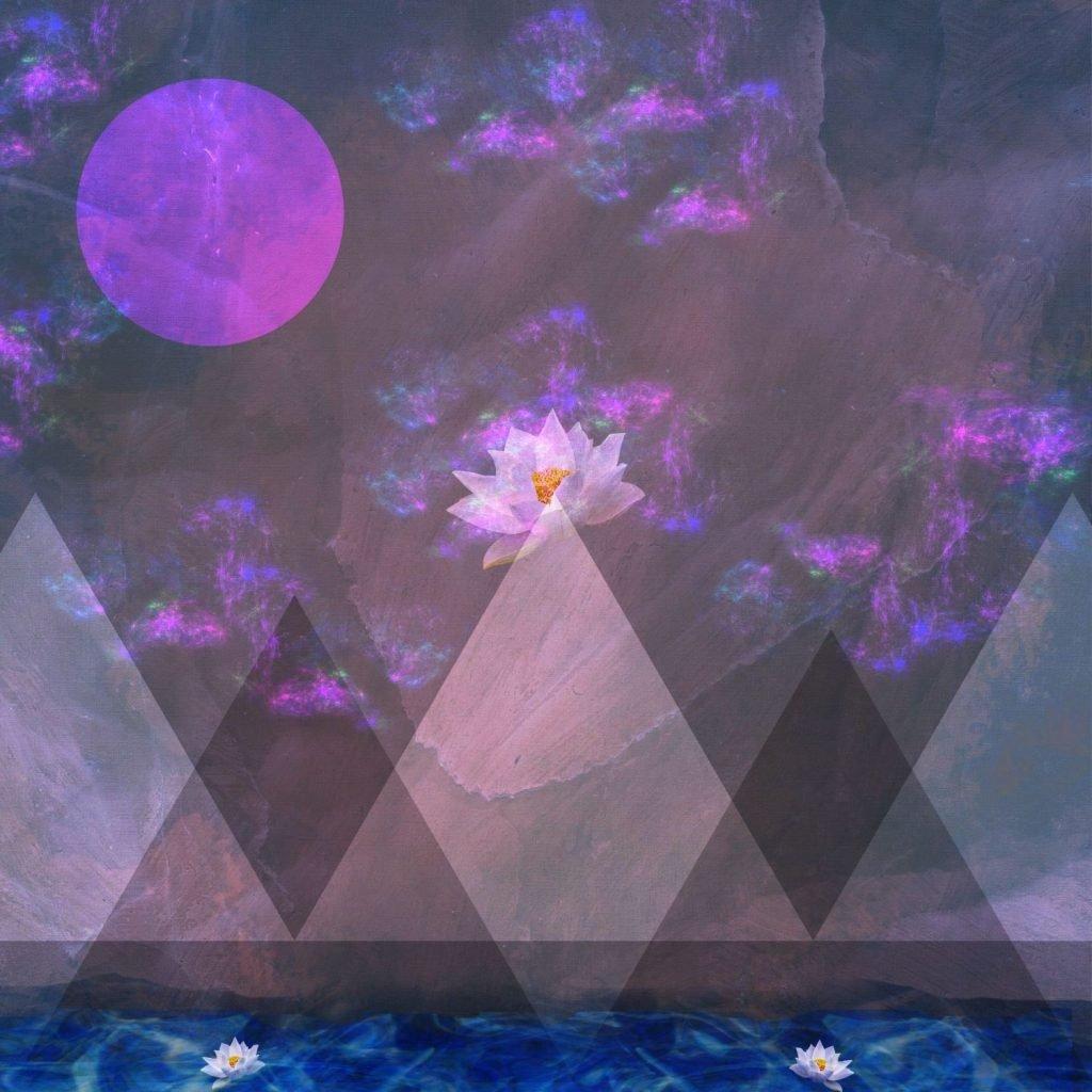 """""""Mirage,"""" Diamanté Lavendar, digital art, various sizes"""