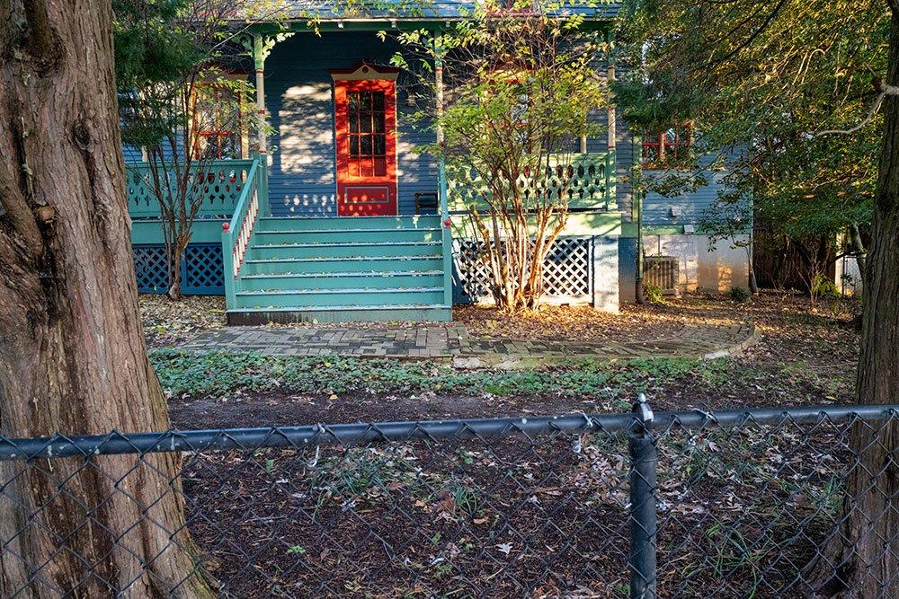 """""""Red Door,"""" B Miller, digital photograph, 8368 x 5534 px"""